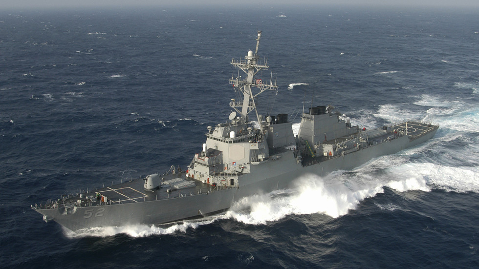 Destroyer USS Barry